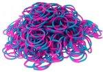 loom bands roze blauw