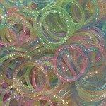 loom bands glitters