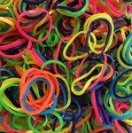 loom bandjes gekleurd