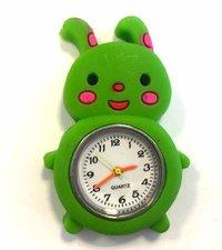 Loom bands kinder horloge konijn groen