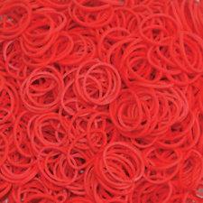 200 Loombandjes rood