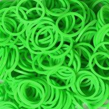 600 Loom bands groen