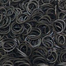 600 Loom bands zwart