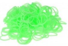 300 Loom bands neon groen