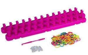 Loombord XL roze (incl. elastiekjes)
