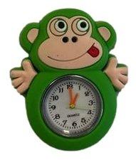 Loom bands kinder horloge aap groen