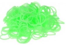 200 Loom bands neon groen