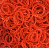 300 Loombands parels rood