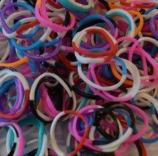 300 Loom bands happy mix