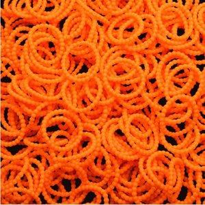 loombands oranje parels