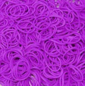 600 Loom bands paars