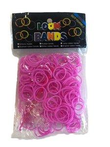 loom bands donkerroze
